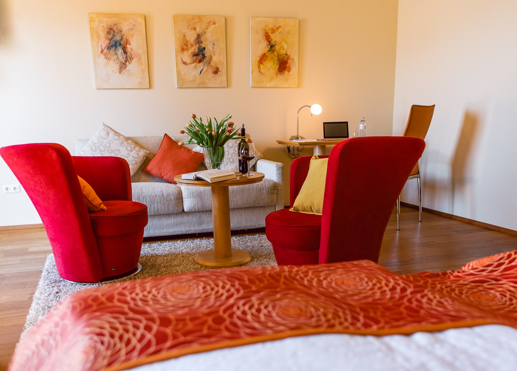 Doppelzimmer Panoramablick (Junior Suite)